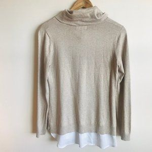 Calvin Klein Turtleneck dazzling light  Sweater s